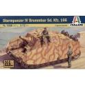 italeri 7050 Sturmpanzer IV Brummbar +2 tankistes