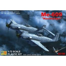 rs 92198 Me-609 Chasse de nuit avec radar