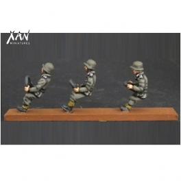 Xan miniatures HV01 conducteurs allemands