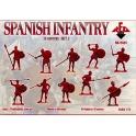 red box 72097 Infanterie espagnole 16è S. (set 2)