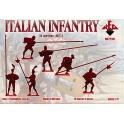 red box 72101 Infanterie Italienne 16è S. (set 3)