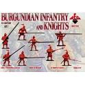 red box 72110 Armée Bourguignone 15è S. (set 2 )