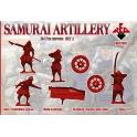 red box 72091 Artillerie samourai 16/17S.( set II)