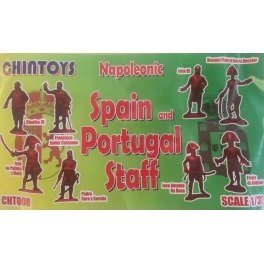 Chintoys 32008 Etat major Espagnol et portugais (1er empire)
