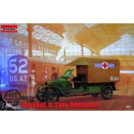 roden 717  Vauxhall D ambulance