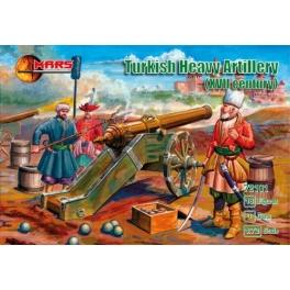 mars 72101 Artillerie de siège turque 17éme S.