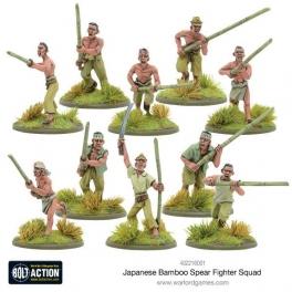 wg 402216001 Soldats japonais avec bambous