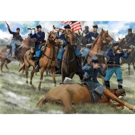 strelets 151 cavalerie Nordiste au combat 1861/1865