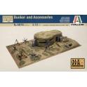 italeri 6070 Bunker + accessoires