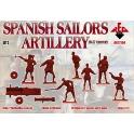 red box 72104 Marins espagnols artillerie 16/17è S.