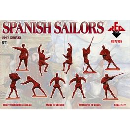 red box 72102 Marins espagnols à la manoeuvre 16/17è S.