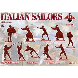 red box 72106 Marins italiens à la manoeuvre 16/17è S.