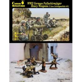 caesar 98 Paras allemands + Armes lourdes
