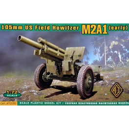 ace 72530  Obusier US 105mm M2A1