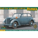 ace 72507 Olympia (cabrio) staff car, mod. 1938