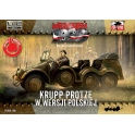 First to fight 50 Krupp Protze polonais