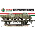 hunor 72221 wagon + 2 camions Ford