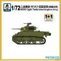 S-model 72133 M3A3 Light Tank anglais