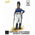 hat 9307 Commandement infanterie wurtembourgeoise