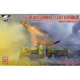 modelcollect 72113 E75 Ausf.vierfubler Rheintochter 1