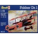revell 4116 Fokker Dr.I Triplan (Nouv. moule)