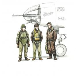 cmk 72339 Equipage de bombardiers US 39/45