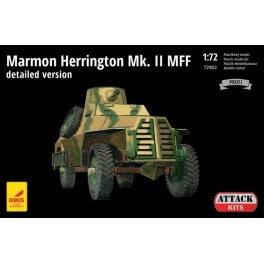attack 72902 Marmon-Herrington Mk.II MFF (kit detaillé)