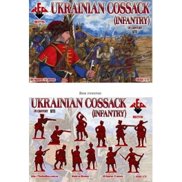 red box 72116 Infanterie cosaques ukrainiens 16èS. (set 3)