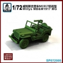 S-model SP72005 Jeep willys mitrailleuse