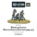 Blitzkreig German 81mm Medium Mortar team