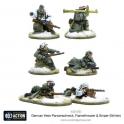 German Heer Panzerschreck, Flamethrower & Sniper teams (Winter)
