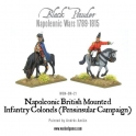 Mounted British Infantry Colonels (Peninsular)