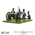 Napoleonic French Imperial Guard Foot Artillery 12-pdr firing