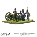 Napoleonic French Imperial Guard Foot Artillery howitzer firing (Splash Release)