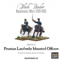 Prussian Mounted Officers