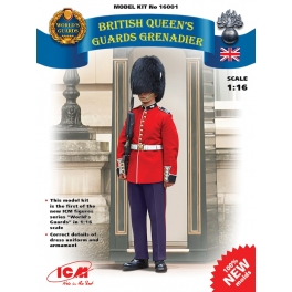 ICM 16001 Grenadier de la guarde anglais 1/16