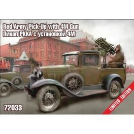zebrano 72033 Pick-up Armée Rouge avec canon 4M
