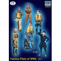 MB 3201 Famous pilots of WWII Kit 1
