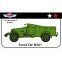 AGB 72010 M3A1 Scout Car USA/Union Soviétique