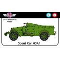 AGB 72020 M3A1 Scout Car Grande Bretagne / France