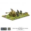 German Heer 105mm Gun & Crew