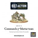 "Commando 3"" mortar team"
