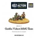 Gurkha Vickers MMG Team