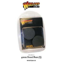 40mm Round Bases (8)