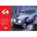 ICM24012 Benz G4 with open cover, WWII German Personnel Car