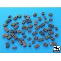 Black dog T72026 Boxes accessories set