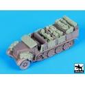 Black dog T72078 Sd.Kfz 7 accessories set