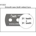 CMK scie résine dentition fine (31 dents)