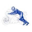 Pilote MotoGP (Départ) 1/12