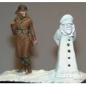 Soldat + bonhomme de neige
